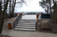 Punkt widokowy w Sopocie otwarty