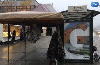 Namioty handlowe szpecą centrum Gdańska