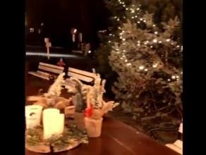 Świąteczne ozdoby w Tawernie Orłowskiej