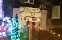 Nietypowe świąteczne dekoracje. Nie zapomnieli o pandemii
