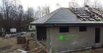 Wykonanie pokrycia dachu