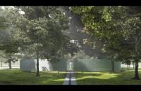 II nagroda w konkursie na koncepcję cmentarza na Westerplatte