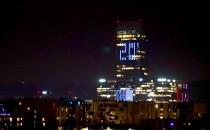 Patriotyczna iluminacja Grudzień 70 w Oliwie
