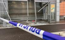 Skutki włamania do Auchan