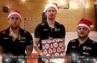 Życzenia świąteczne od koszykarzy Trefla Sopot