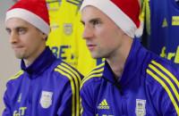 Życzenia świąteczne od piłkarzy Arki Gdynia