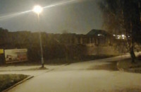 Opady śniegu w Trójmieście