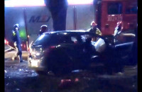 Wypadek na Siennickiej. Dwie osoby nie żyją