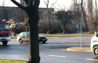 Poważna stłuczka przy ulicy Siennickiej jadąc na Przeróbkę