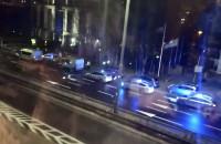Sześć radiowozów. Nocna akcja policji w Gdyni