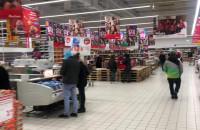 W Auchan w Rivierze spory ruch