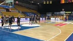 Asseco - Trefl. Rozgrzewka koszykarzy