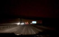 Trudne warunki na autostradzie A1