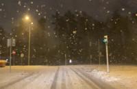 Śnieżyca na Matarni