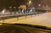 Tiry blokują przejazd na obwodnicy