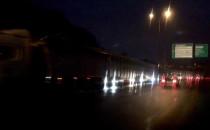 Uszkodzona ciężarówka na Estakadzie...
