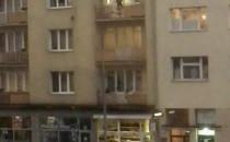 Choinki już lecą z balkonów ;) centrum Gdyni