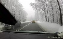 Malownicze Kaszuby po opadach śniegu