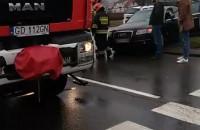 Kolizja drogowa Gdańsk Przymorze Obrońców Wybrzeża