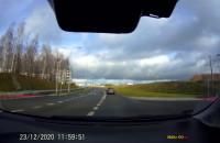 Wyprzedzanie na skrzyżowaniu
