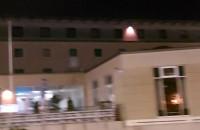 Pożar za hotelem Scandic w Gdańsku