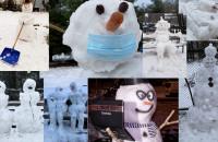 Śnieżne bałwany - kompilacja filmów i zdjęć czytelników