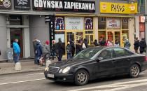 Kolejka do Pączusia w Gdyni prawie jak w...