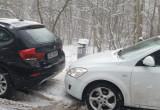 Sznur aut przed wejściem do zoo
