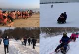 Piękny zimowy weekend - filmy czytelników