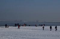 -12 im nie straszne. Morsy kąpią się na Westerplatte