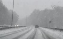 Śnieżyca na ul. Słowackiego