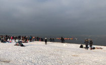 Tłumy morsują w Brzeźnie