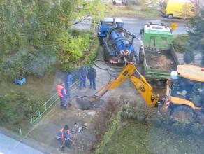 Awaria studzienki wodociągowej na Chełmie