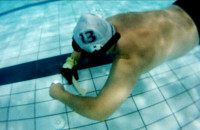 W hokeja pod wodą
