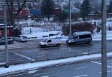Interwencja policji przy SKM Wzgórze