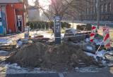Parkometr a wokół fosa czy okopy wojenne?
