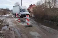 Kłopoty z przejazdem ul. Borkowską w Gdańsku