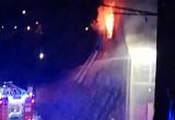Skutki pożaru w Śródmieściu