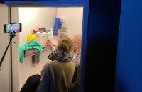 Kontrola sanepidu w klubie Wolność