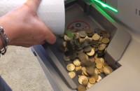 Maszyna do wymiany bilonu w NBP