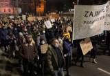 Protest po uzasadnieniu wyroku TK w sprawie aborcji