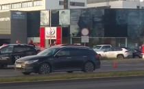 Kolizja na Grunwaldzkiej w Oliwie w stronę...