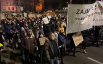 Protest w Gdansku
