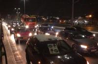 Samochodowy protest w Gdańsku