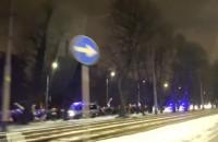 Protest Strajku Kobiet idzie Grunwaldzką