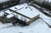 Początek rozbiórki budynku klubu Face Club w Gdyni