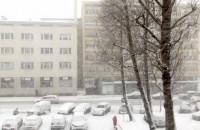 Coraz większa śnieżyca w Gdyni