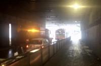 Paraliż ulicy Podjazd w kierunku Morskiej w Gdyni