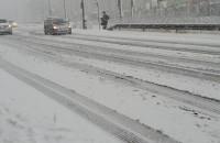 Biało na drogach