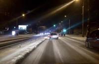 Główna arteria Gdyni, 4 godz. po opadach, a nadal jest lodowisko